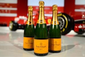 Ferrari And Veuve Clicquot Creates Limited Edition The Veuve Clicquot Maranello Edition Set For CFDA