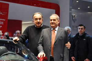 Marchionne with Felisa