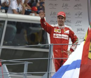 Vettel managed to rescue a third place