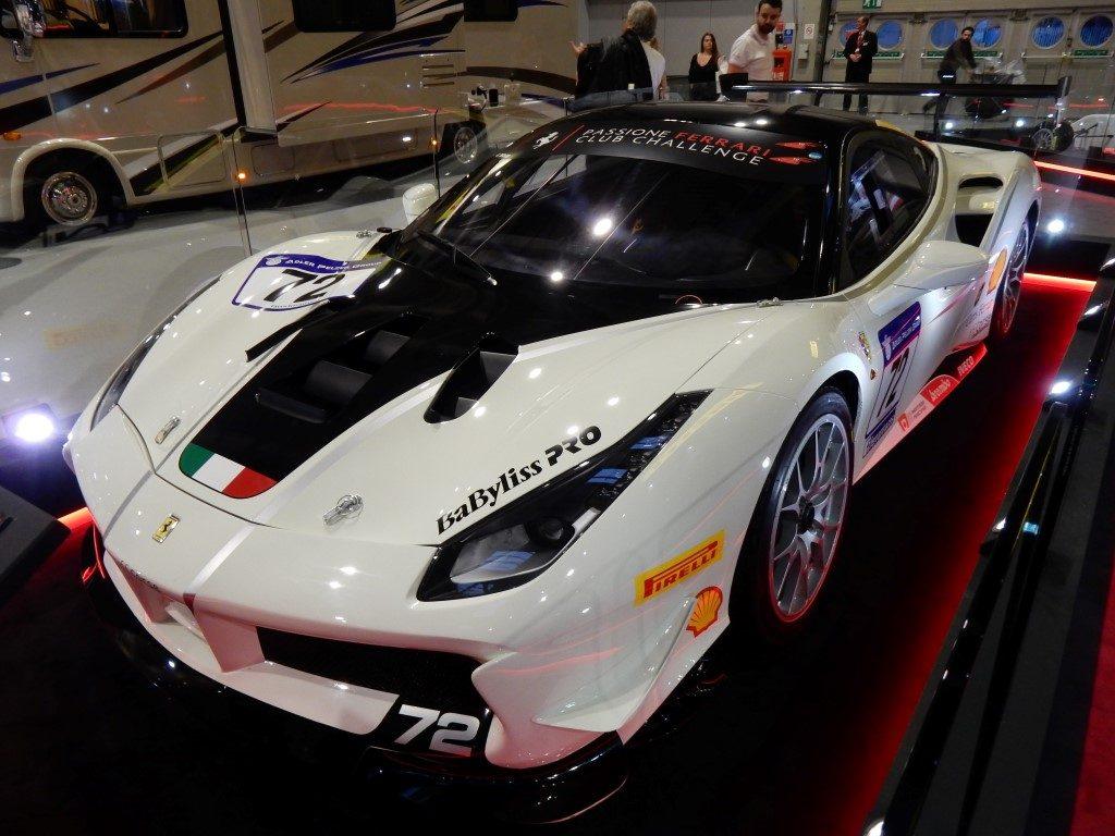 Ferraris At The Autosport International Racing Car Show The - Ferrari car show